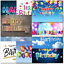 thumbnail 7 - Doodlecards Pack of 10 Standard Size Contempory Mixed Birthday Cards
