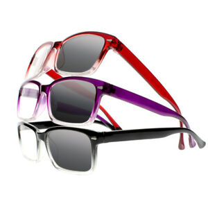 fdcb3b0601b1 Image is loading Transition-Photochromic-UV400-Reading-Glasses-Readers -Silver-Rivets-
