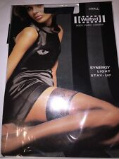 Wolford Synergy Light Stay-Ups Thigh Highs Color: Black  Small 21282 20 Den