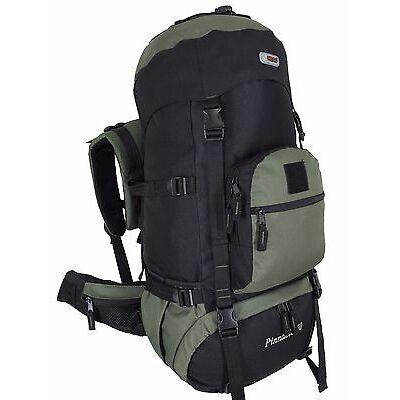 HBAG 60L Internal Frame Backpack Outdoor Hiking Camping Travel Rucksack Bag