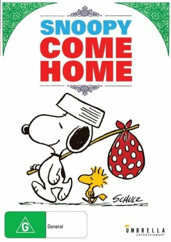 1 of 1 - SNOOPY COME HOME :  DVD