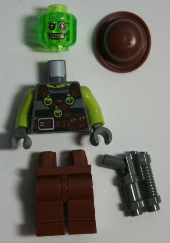 LEGO Ultra Agents Retox Minifig Minifigure 70163 Toxikita/'s Toxic Meltdown