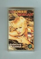 Lorrie Morgan - Trainwreck Of Emotion - Cassette -