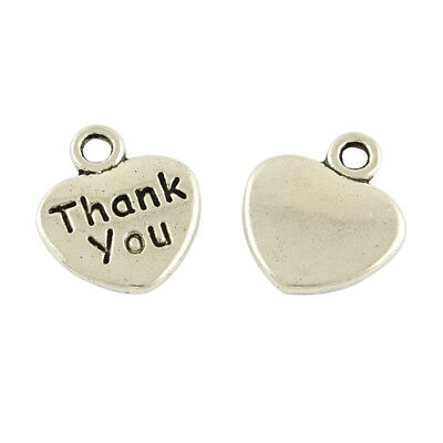 BULK Charms Quote Charms Word Pendants Never Give Up Antiqued Silver 25pcs
