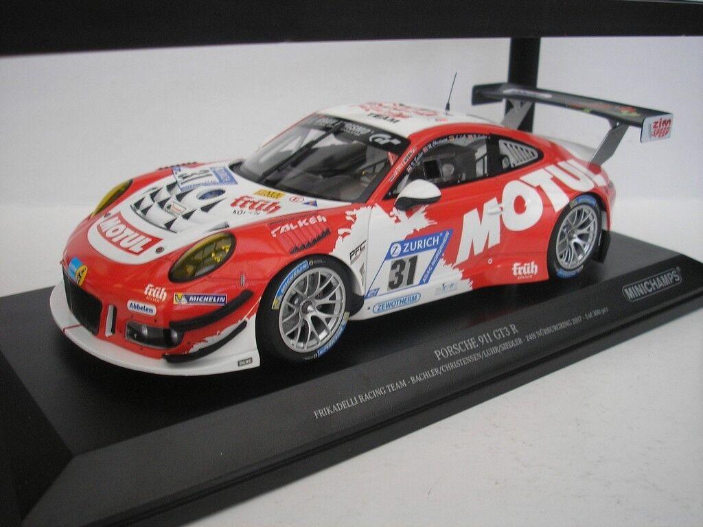 PORSCHE 911 GT3 R h NÜRBURGRING 2017  1 18 MINICHAMPS 155176931 NEU