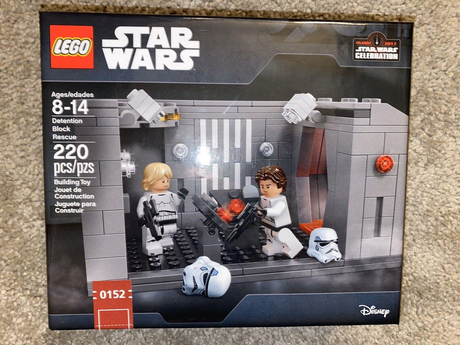 Lego Star Wars Celebration Detention Block Set Han Luke Stormtrooper LOW  152