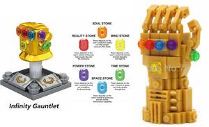 The Avengers Mini Figures NEW UK Seller Fits Major Brand Blocks Bricks Thanos