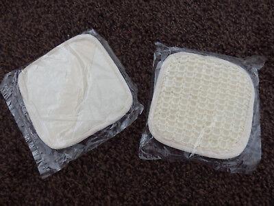 2x Massage Pad Neu + Ovp, Massagehandschuh Peeling Beauty Reinigung GroßEr Ausverkauf