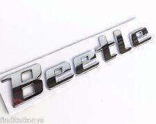 3D badge fit VW Beetle Rear Emblem Car Decal Logo Sticker Chrome Badge NEW