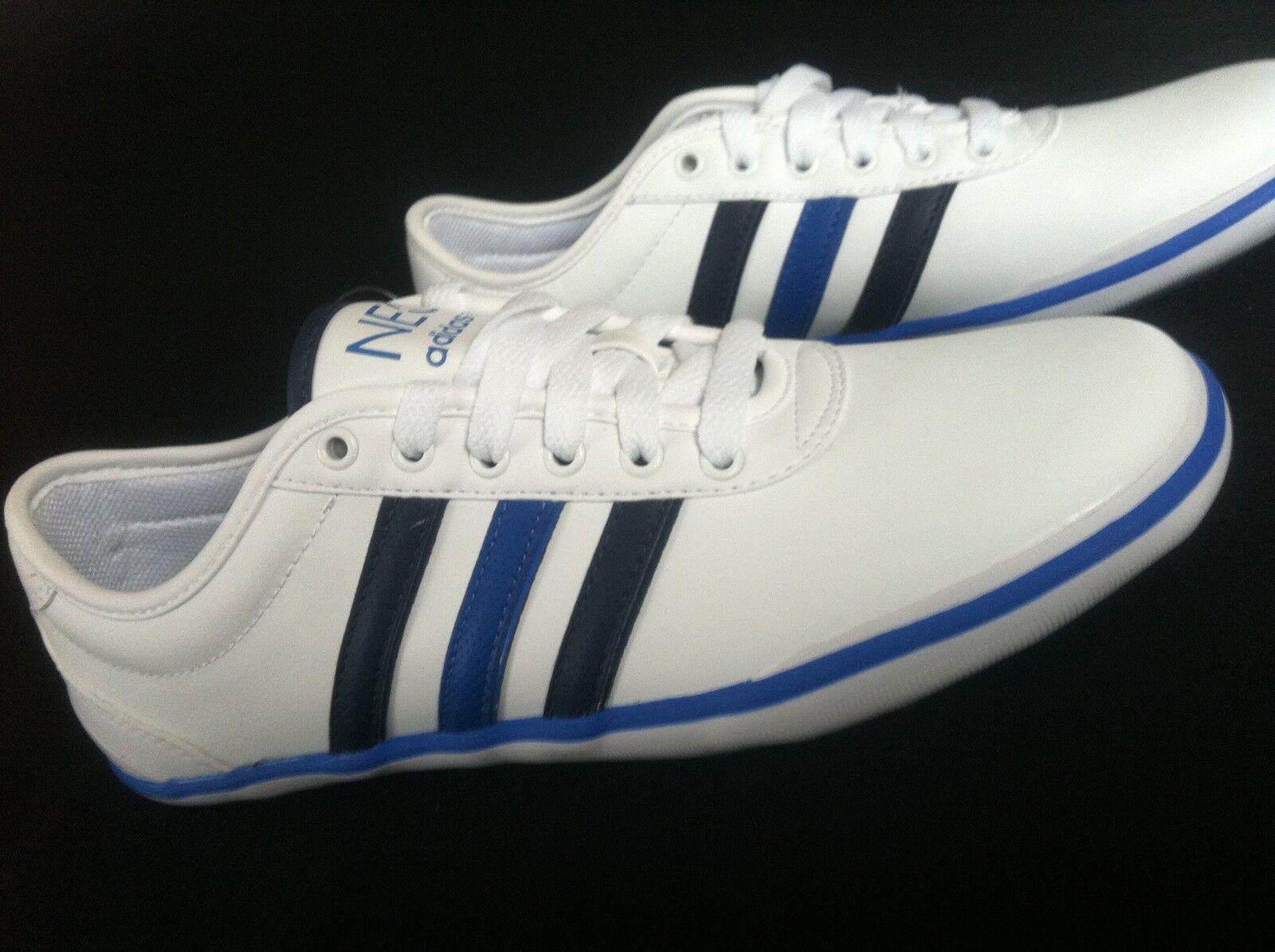 Hammer adidas Zapatillas Weiss corre zapatos elegantes cuero calzado deportivo talla 42 2/3