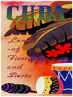 "121.Quality Design poster/""Cuba Landscape.Palms.Abstract/""Interior design"