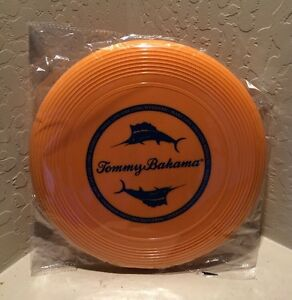 Tommy-Bahama-Orange-Frisbee-New-In-Package