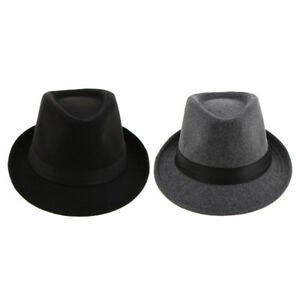 555e084d6ac61 Image is loading Men-039-s-Manhattan-Structured-Gangster-Trilby-Irish-