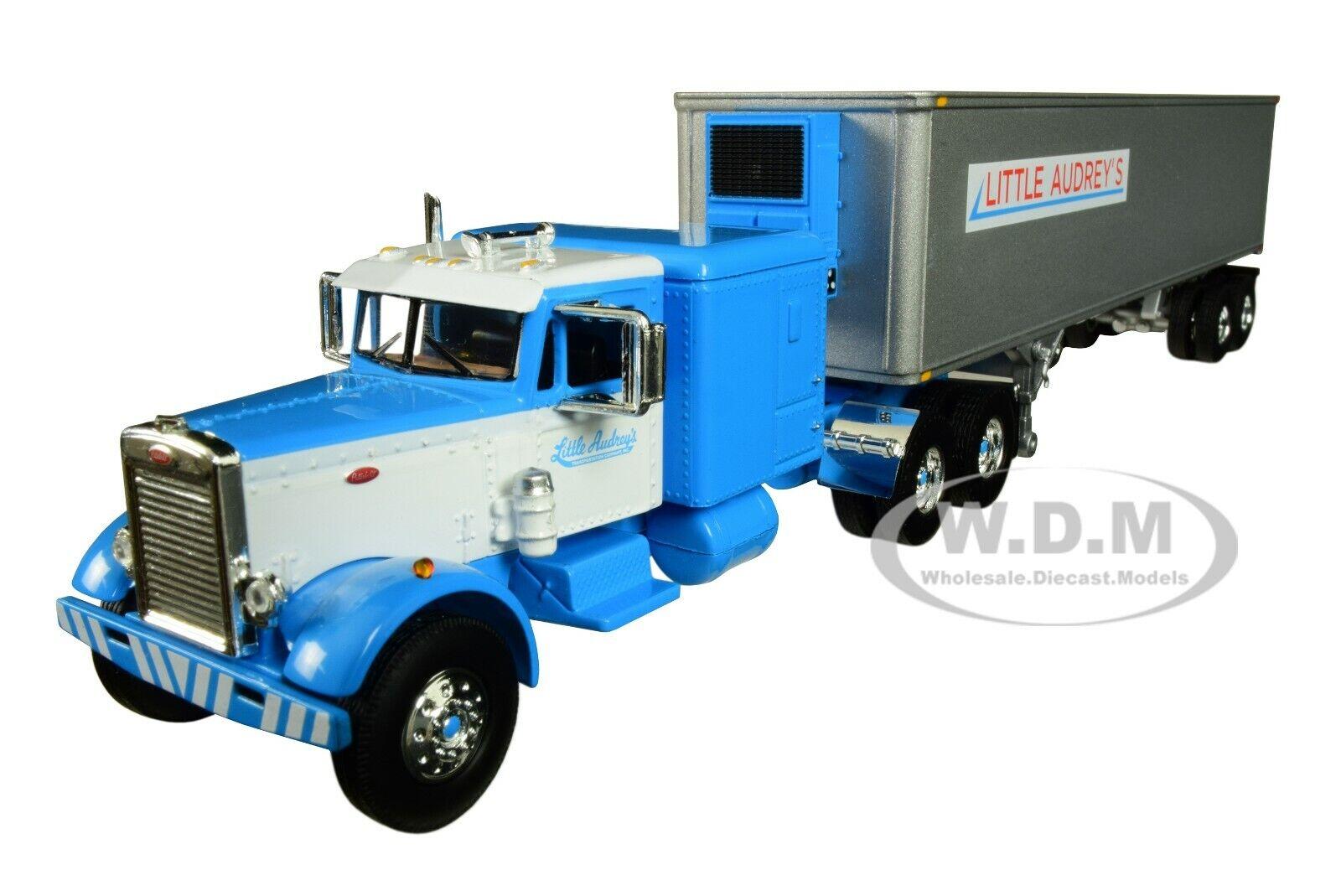 Peterbilt 351 63 Sleeper Bunk W 40 Reefer Trailer 1 64 By First Gear 60 0493 For Sale Online