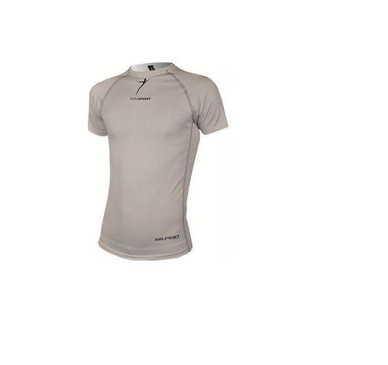 Maglietta Manica Corta YOUSPORT Mod.MICRORETE plataPRO