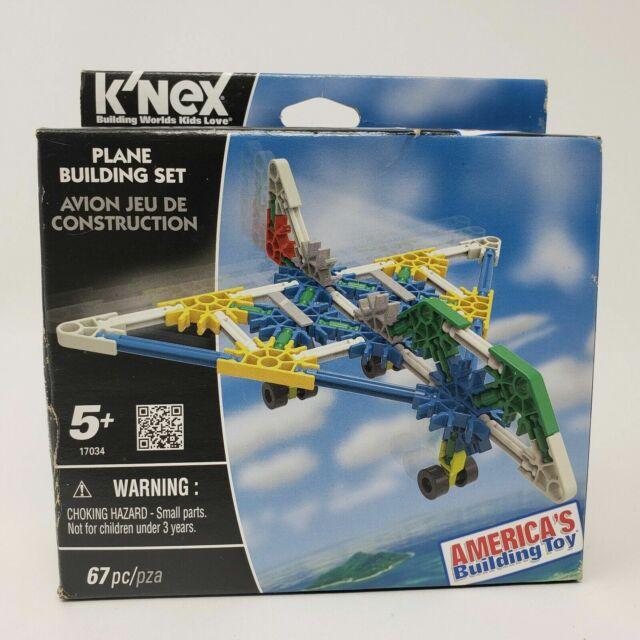 Plane K'NEX Building Set KNEX Construction Toy 17034