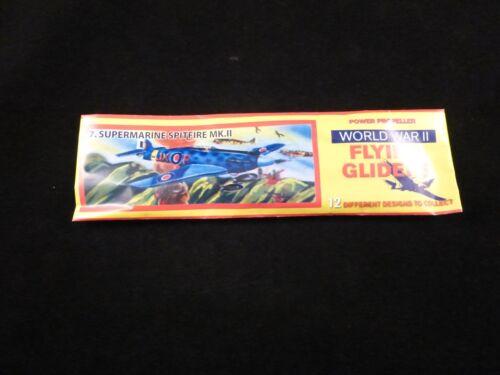 Old School Power Propeller Plane WW2 Flying Gliders Range 12 Different Designs