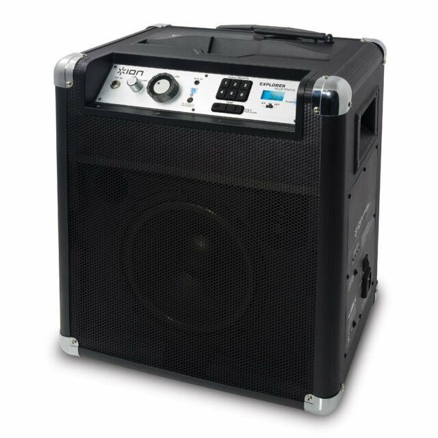 Rask ION Audio IPA23 Block Rocker Explorer Sound System with Bluetooth TO-99