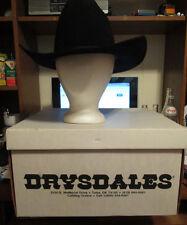 Vintage Stetson Stallion Long Oval Women's Hat  size 7 (56).