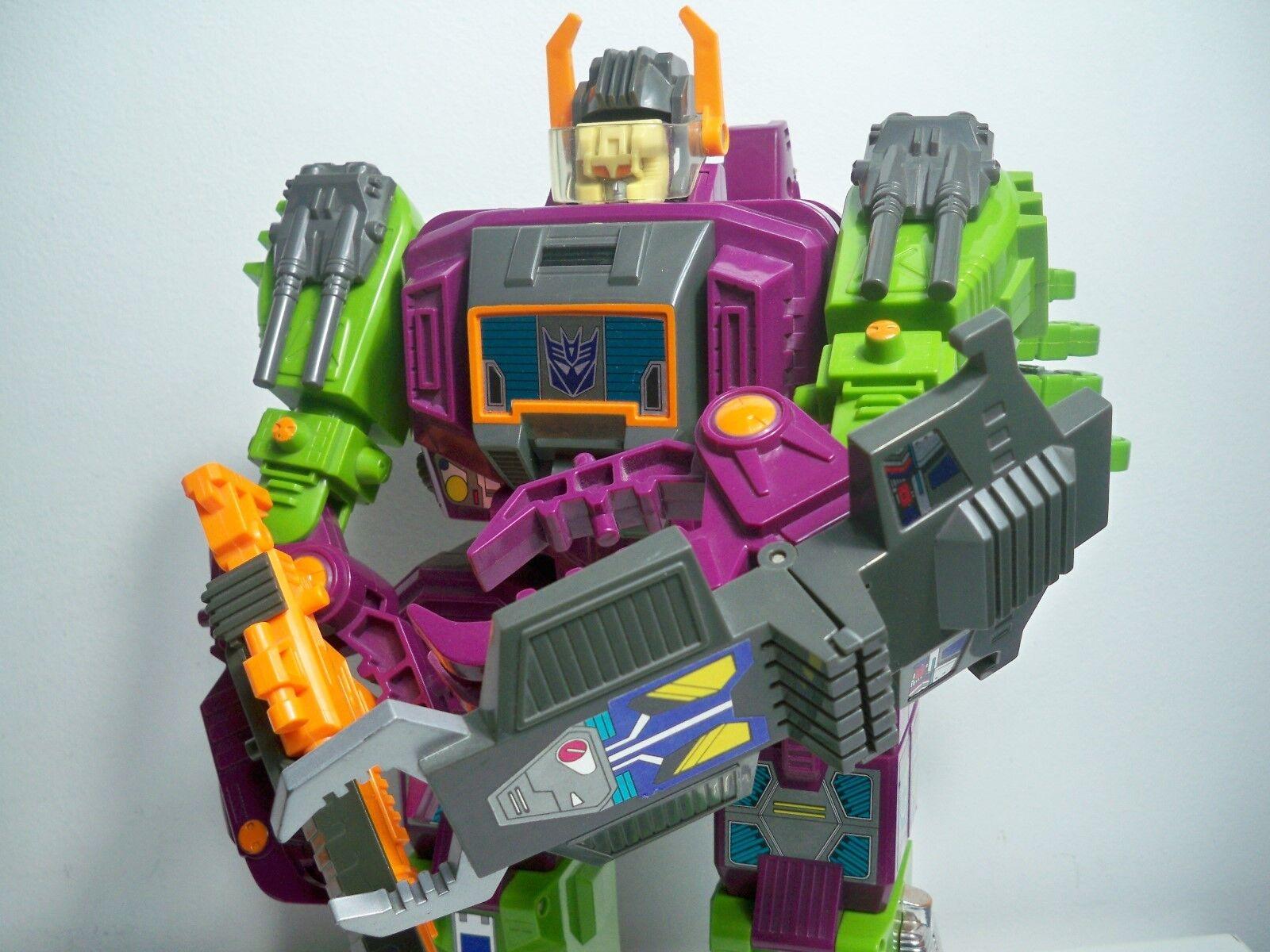 K1850533 scorponok loose 100% Complete Transformers G1 ORIGINAL 1987 Decepticon   détaillant de fitness