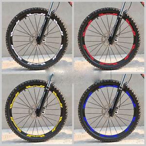 Mountain bike bicycle wheel set rim sticker for e*thirteen e13 MTB racing Decal