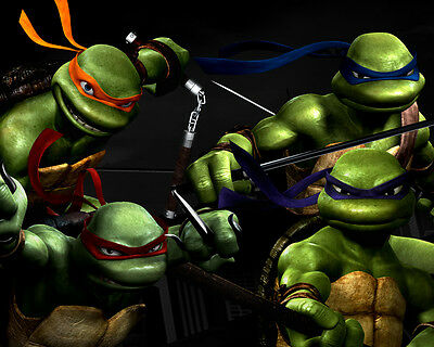 Turtles TMNT Giant Poster A0 A1 A2 A3 A4 Sizes