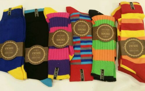 6 pairs Mens Luxury combed cotton socks.Perfect Fathers Day Gift Sz 38~42