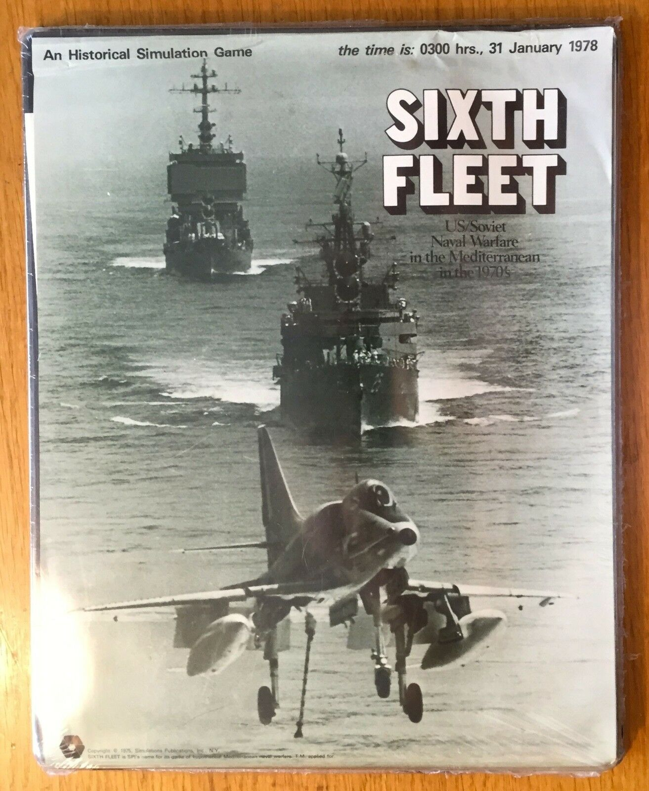 SIXTH FLEET - SPI 1975 - COME NUOVO BLISTERATO - UNPUNCHED