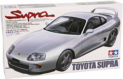Tamiya 1/24 Sports Car Series No.123 Toyota Supra Model Car 24123