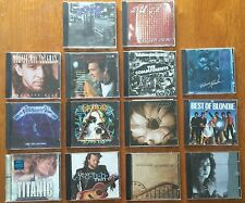 Lot of 14 Music CDs - Rock Country Rap