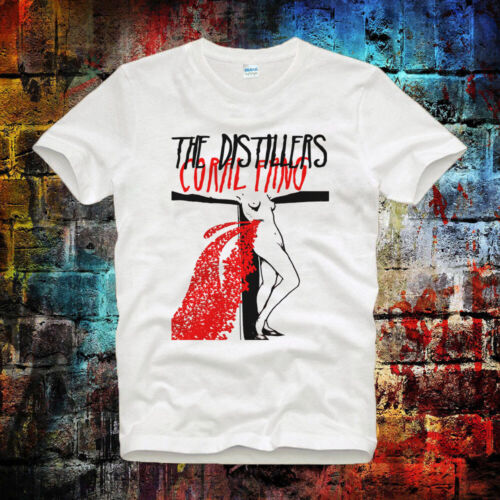 The Distillers Coral Fang Rock Tee Top Vintage Unisexe//Femmes T Shirt B632