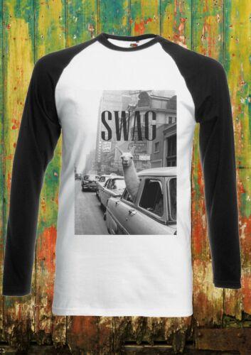 LLama Lama Glama Traffic Car Men Women Long Short Sleeve Baseball T Shirt 305