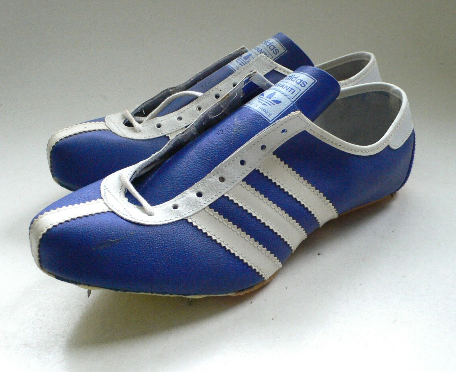 Deadstock Sneakers US ADIDAS AVANTI Running Spikes Boxed  Uomo US Sneakers 7,5 1960's France 632cc1