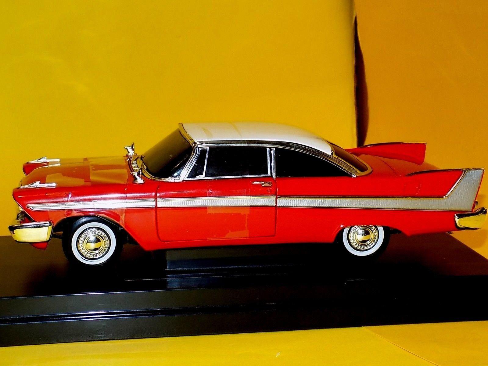 Plymouth Fury Christine Hard Top 1958 Ertl 33853 1 18