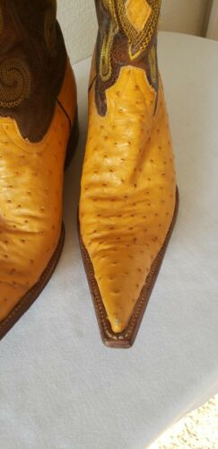 Ausente Ostrich Boots