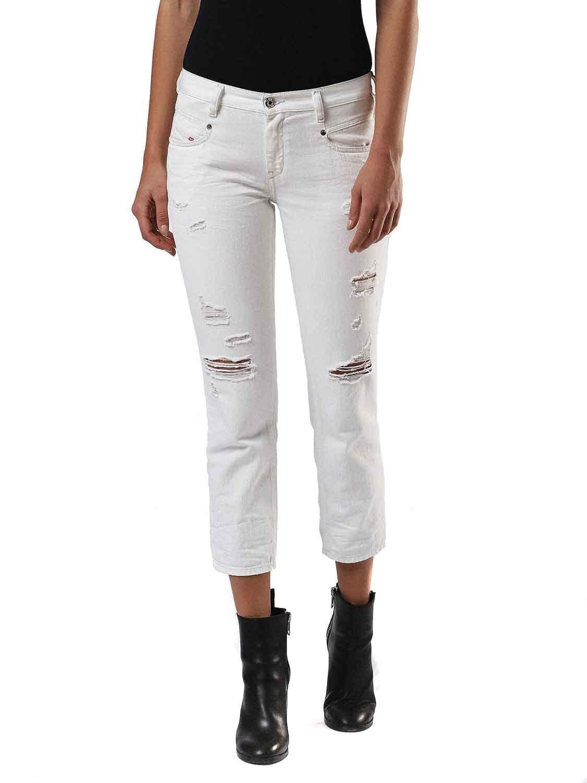 Diesel Belthy-Ankle 0680K Jeans Pantaloni women Diritto Sottile