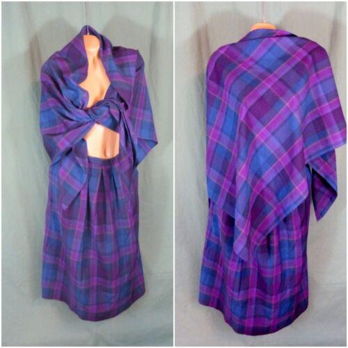 Pendleton Size 12 Tartan Wool Skirt & Scarf