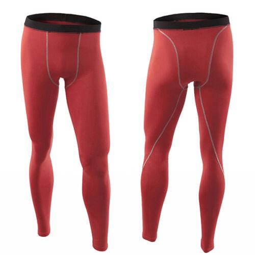 Herren Kompression Gym Tight Fitness Leggings Stretch Sporthose Laufhose Leggins