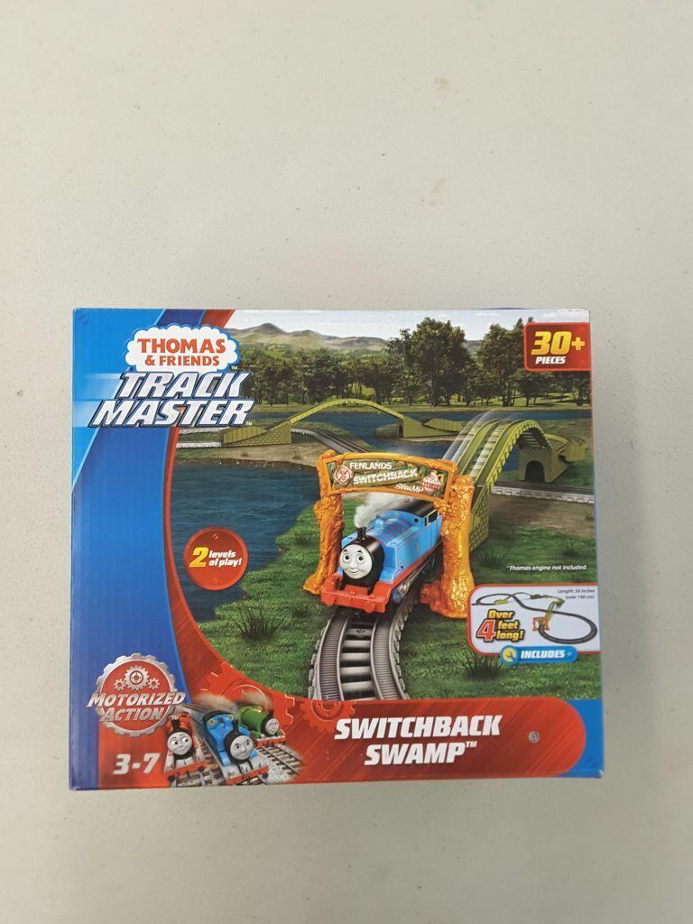 Motorized Railway Switchback Swamp W//lot Of 3 Thomas /& Friends TrackMaster