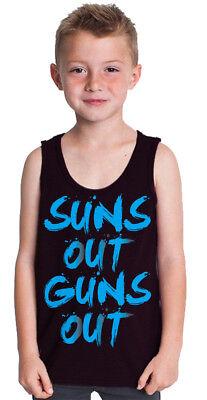 CaliDesign Boys San Francisco Tank Top T-shirt SF Sugar Skull