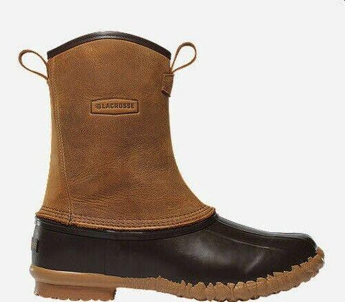 Lacrosse 273124N-8 10  Mesquite 2 Side Zip Boot Size 8 17996