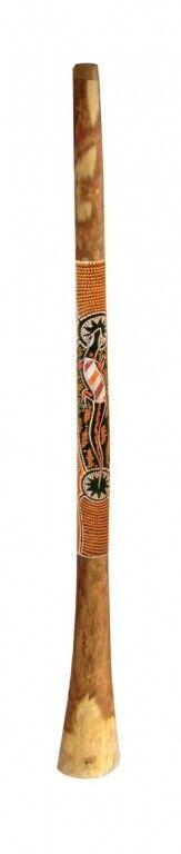 Didgeridoo Eucalyptus Standard bemalt ca. 145-150 cm Dotpainting Percussion