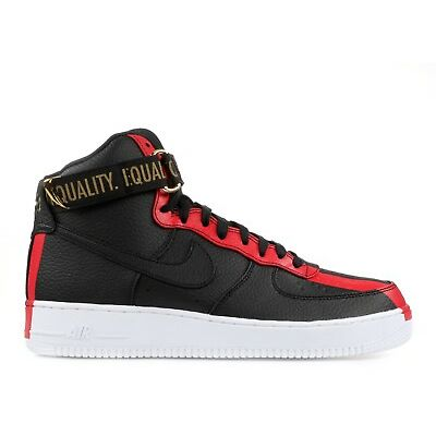 Nike Air Force 1 High BHM Black History Month QS Equality 836227-002 size 8-13
