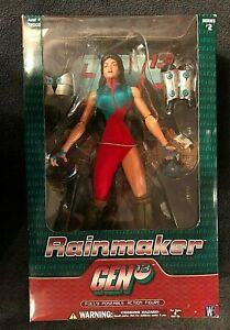 Gen-13-1999-Series-2-Rainmaker-12-034-Action-Figure-New-In-Box