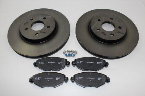 1783849 Original Bremsscheiben Bremsbeläge vorne Ford Mondeo MK3 1681578