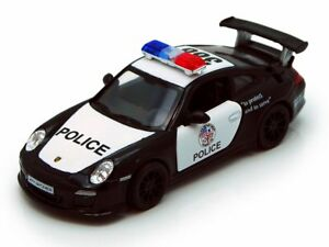 Porsche-911-GT3-RS-Police-Model-Car-1-36-Scale-Diecast-Metal-Pullback-Go-Action