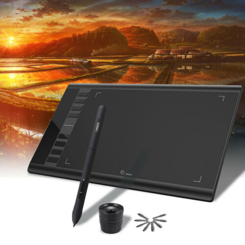 6inch US G9A1 Ugee M708 Upgraded Graphics Drawing Tablet Board 10