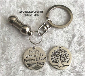 Cremation-Jewellery-Ashes-Urn-Keyring-w-Family-Where-Funeral-Keepsake-Memorial