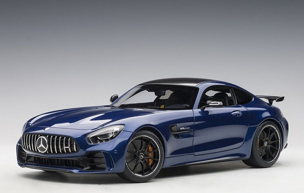 AUTOART 76334 - 1 18 Mercedes-AMG GT R 2017-Brilliant bleu Metallic-NEUF