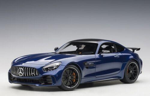 AUTOart 76334 - 1/18 Mercedes-AMG GT R 2017 - Brilliant Blue Metallic - Neu
